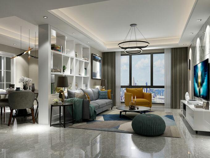 A Grand Modern Apartment